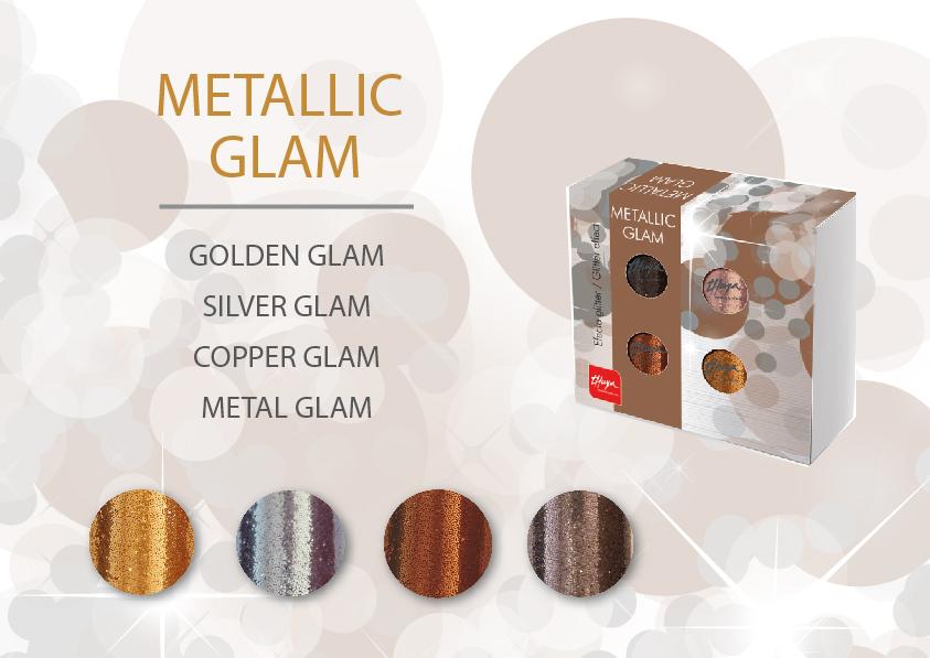 glam metalic
