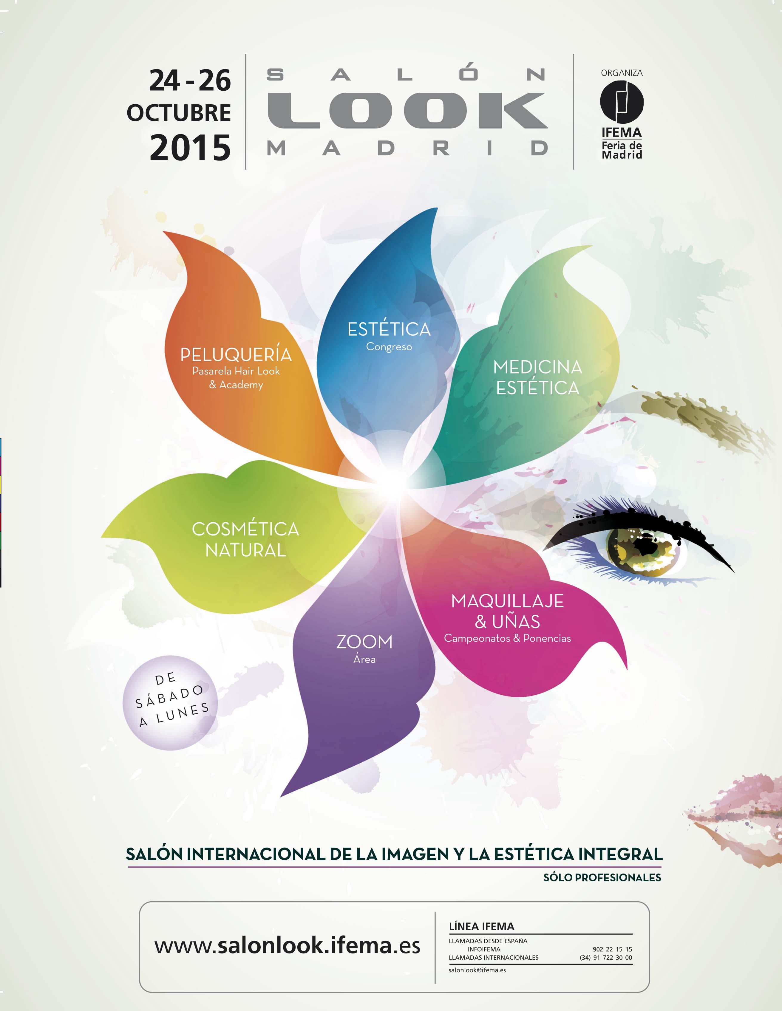 Ifema prepara la décimo octava edición de Salón Look Madrid, del 24 al 26 de octubre