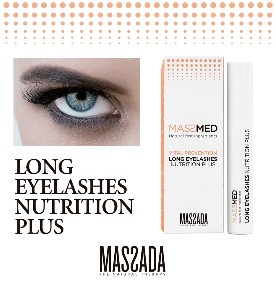 Long Eyelashes Nutrition Plus de Massmed